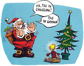 Bon r veillon et joyeux no l - Dessin humour noel ...